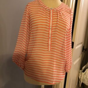 Striped Blouse from Ann Taylor Loft